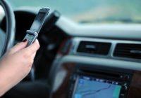 smartphone in de auto