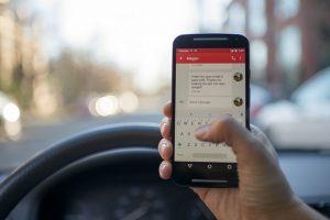 telefoon tijdens rijden