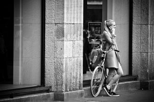 telefoon op fiets verboden